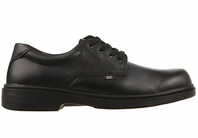 New Roc Strobe Senior Lace Up Comfortable Leather School Shoes