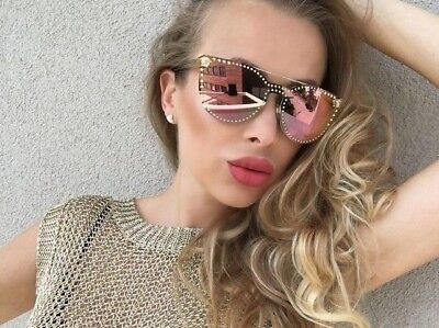79ee26bd736 RARE POLARIZED NEW Genuine VERSACE Medusa Tortoise Sunglasses VE ...