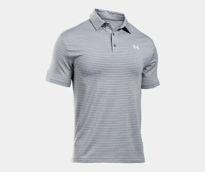 5927fc0b15b UNDER ARMOUR MEN'S Playoff Golf Polo Shirt 1253479 Size M Color Gray ...