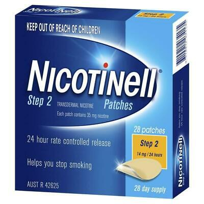 New Nicotinell Step 2 Patch 14mg 24 Hours 28 Day Supply