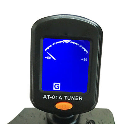 Sale Digital Chromatic LCD Clip-On Electric Tuner for Bass Guitar Ukulele Violin