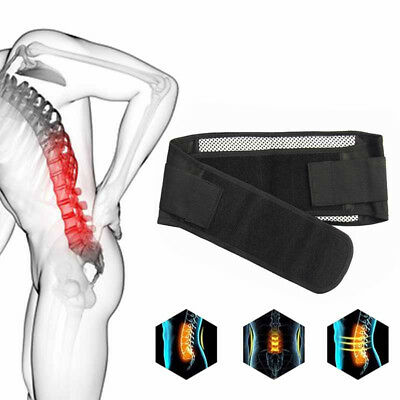 404ce7fa5a5 UK Magnetic Pain Relief Brace Belt for Women Men Lower Back Lumbar Support  Strap