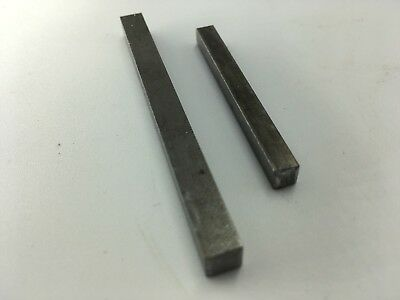 Key Steel Square Bar  3/16 and 6mm