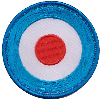 MOD Lambrettas The Jam The Who The Kinks Embroidered Patch Badge