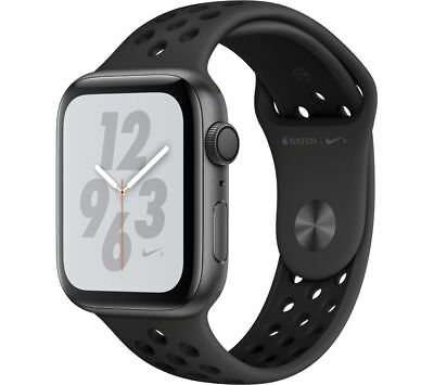 APPLE Watch Series 4 Nike+ - Space Grey & Anthracite Sports Band, 44 mm - Currys