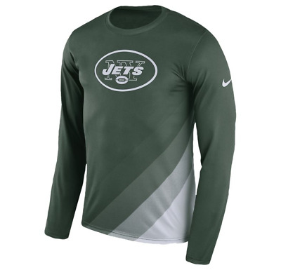 d5e84f34 NEW YORK JETS Mens Nike Sideline Legend Team DRI-FIT T-Shirt - XL & Large  NWT