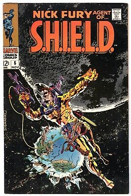 Nick Fury, Agent of SHIELD #6, Very Fine Condition'