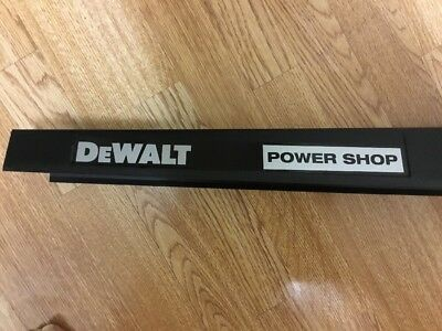 Dewalt Radial Arm  Dw125 Dw1251 Etc Brand New Top Arm Powershop Stickers  Pair