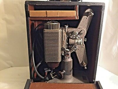 Revere Eight 8mm Movie Projector P-1002 Vintage Tested and Working