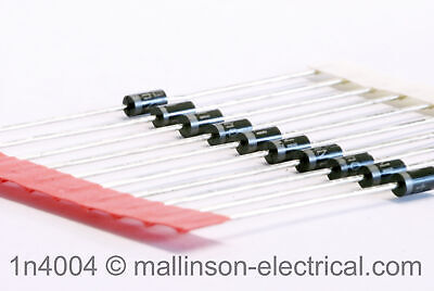 Pack of 10 1N4004 Silicon Rectifier Diodes