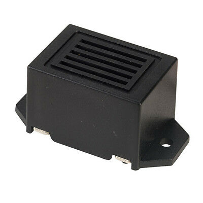 12vdc MINIATURE BUZZER with 10cm lead (Black and Red) 80db