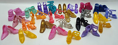 25 Pairs Of Fashion Doll Shoes Fits Barbie and 11 1/2 inch Dolls