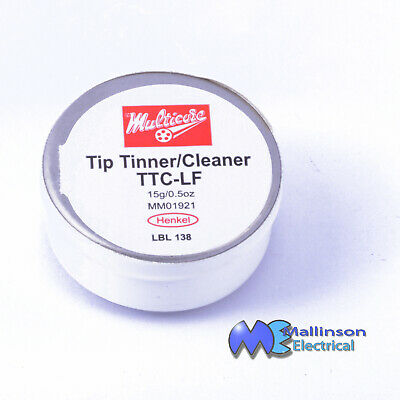 Multicore Soldering Iron Tip Cleaner / Tinner 0.5oz 15g