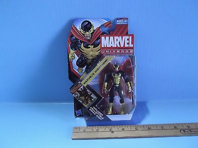"Marvel Universe Marvel's Nighthawk 3.75""in Figure   Hasbro 2011 Series 4"