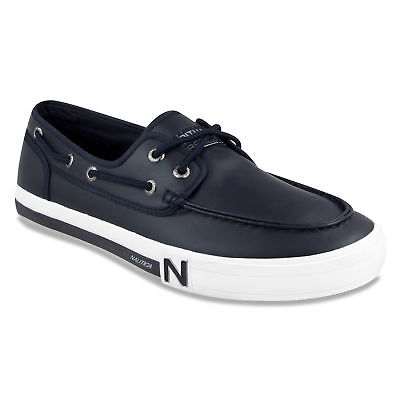 Nautica Spinnaker Boat Shoes - Smooth True Navy