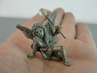 Miniature Mini Flower Garden Fairy Fairies Faerie Sprite Pixie Pewter Figurine