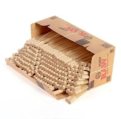 RAW Empty Cigarette Tubes (Raw Natural Unrefined Tubes)