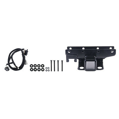 "Rugged Ridge 11580.51 Wrangler JK Receiver Hitch 2"" With Wiring Harness/Hardware"