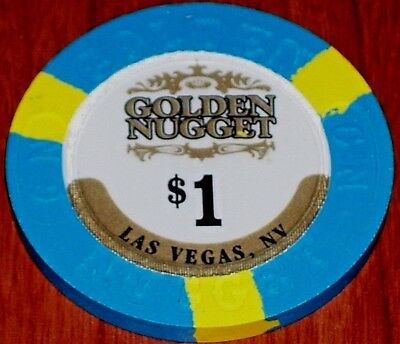 $1 20Th Edition Gaming Chip From The Golden Nugget Casino Las Vegas (1946-)