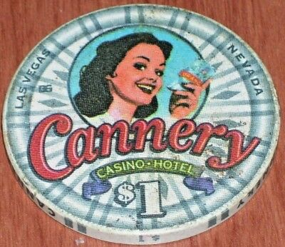 $1 1St Edition Gaming Chip From The Cannery Casino Las Vegas 2002