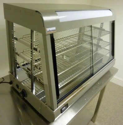 New Heated Display Cabinet Showcase-660mm Chicken Warmer Bun Warmer