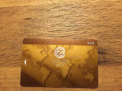 Princess Cruise Line Gold Level Sea Pass Card - Blank
