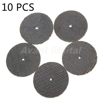 10Pcs Resin Fiber Grit Cutting Wheel Sanding Discs 38mm for Cutting Rotary Tools