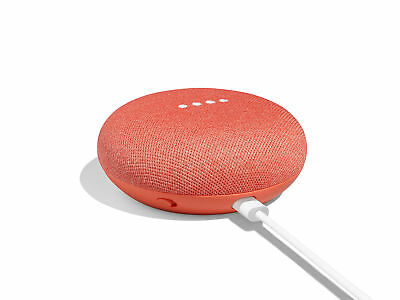 Google GA00217-US Home Mini Smart Small Speaker Coral