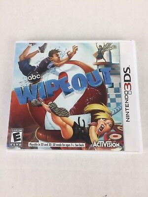 Wipeout 2 - Nintendo 3DS Game Complete With Manual And Case