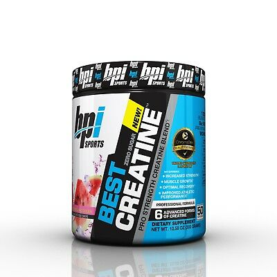 <NEW> BPI SPORTS BEST CREATINE 50serving PRE/INTRA/POST WORKOUT l Zero Sugar l