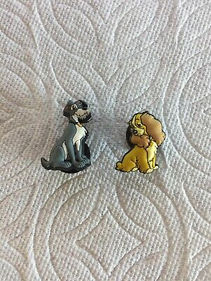 Lady & The Tramp Jibbitz Lady & The Tramp Shoe Charm Fits Crocs Dog Jibbitz