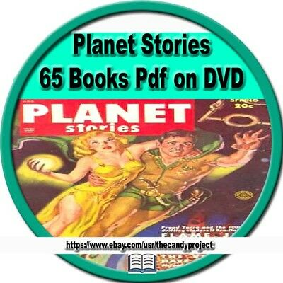Planet Stories Comics 65  Books Golden Age Pulp Fiction Magazine  Pdf 2 DVD