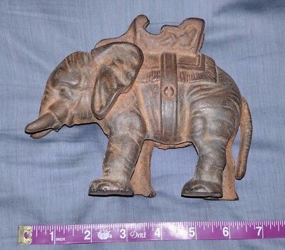 Vintage antique large Elephant bank