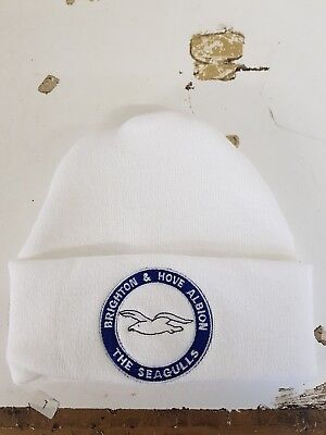 Brighton and Hove Albion  wooly Hat Beanie Hat The Seagulls