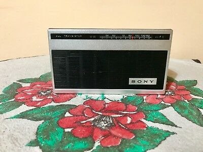 Vintage Radio SONY ALL TRANSISTOR Model 4R-51,pocket radio ,1967-Rare-Working