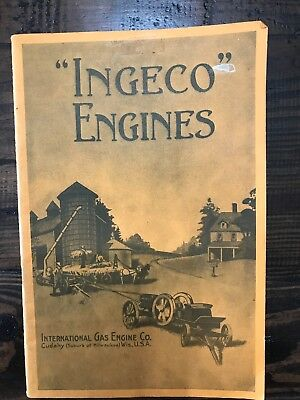 Ingeco Engines International Gas Engine Co Manual Book
