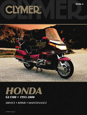 Clymer M505 1993-2000 Honda GL1500 Gold Wing Repair Service Maintenance Manual