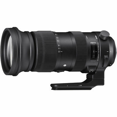 Sigma 60-600mm F4.5-6.3 DG OS HSM SPORT for Canon. U.S. Authorized Dealer