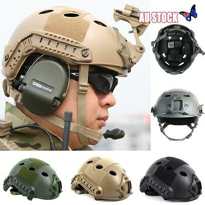 Outdoor Military Tactical Airsoft Paintball SWAT Protective Comfort Fast Helmet