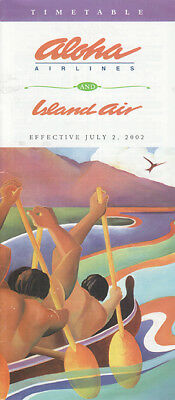 Aloha Airlines timetable 2002/07/02