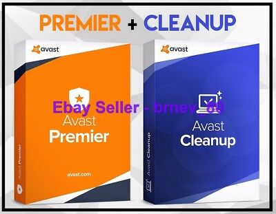 ✔ Avast Antivirus Premier Premium Version Lifetime License Key * Avast Cleanup *