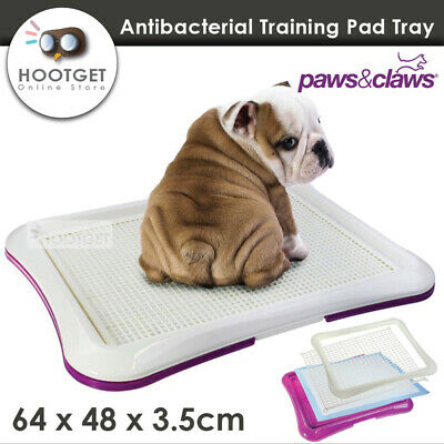 [64x48] Pet Cat Puppy Dog Potty Training Portable Toilet Large Loo Pad Tray Mat