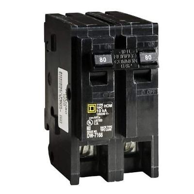 Square D by Schneider Electric HOM280CP Homeline 80-Amp Two-Pole Circuit