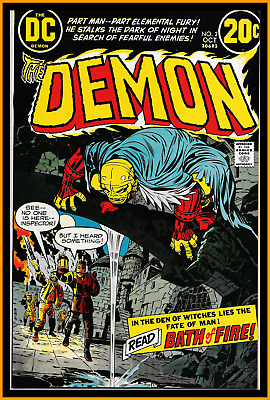 Demon #2 (1972) 2Nd Demon Jack Kirby Dc Comics High-Grade 9.6 Nm+ Cgc It!