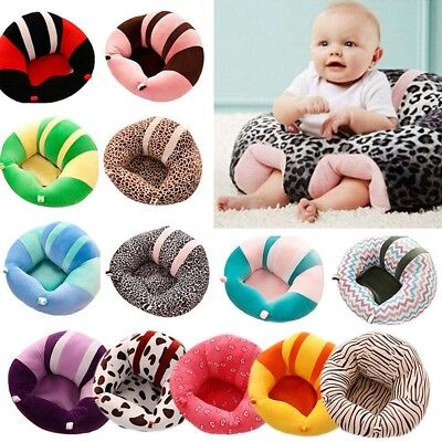 11 Colors Cotton Baby Support Seat Soft Chair Cushion Sofa Plush Pillow Toys AU