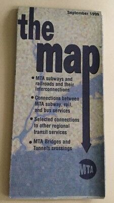 New York City Subway Map February 2004.The Map The Mta New York City Subway Map From February 2004