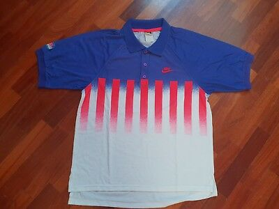 Vintage Nike challenge court Agassi tennis polo shirt 90s size M