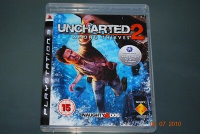 Uncharted 2 Among Thieves Ps3 Playstation 3