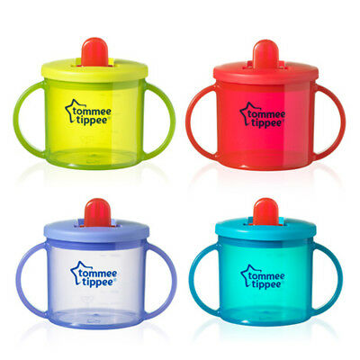 Tommee Tippee Baby First Cup Training Drinking Drink Essentials 190ml 4m+