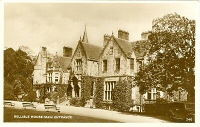 Belleisle House Main Entrance RP Ayr, view of country house